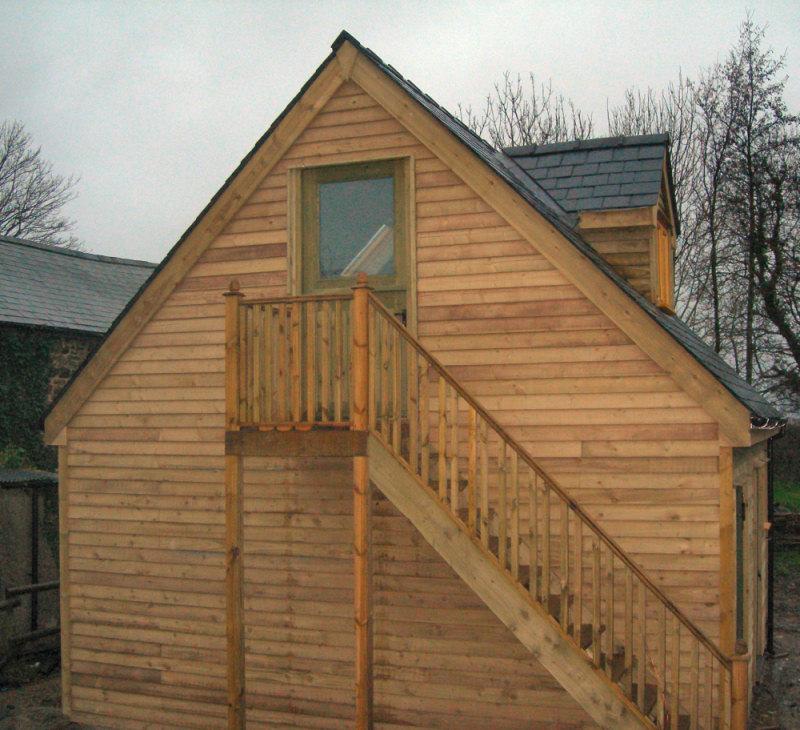 Oak Timber Exterior Doors Hand Made Wooden Windows