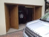Bi-fold heavy oak doors