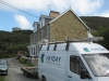Hayday van & an example of guttering